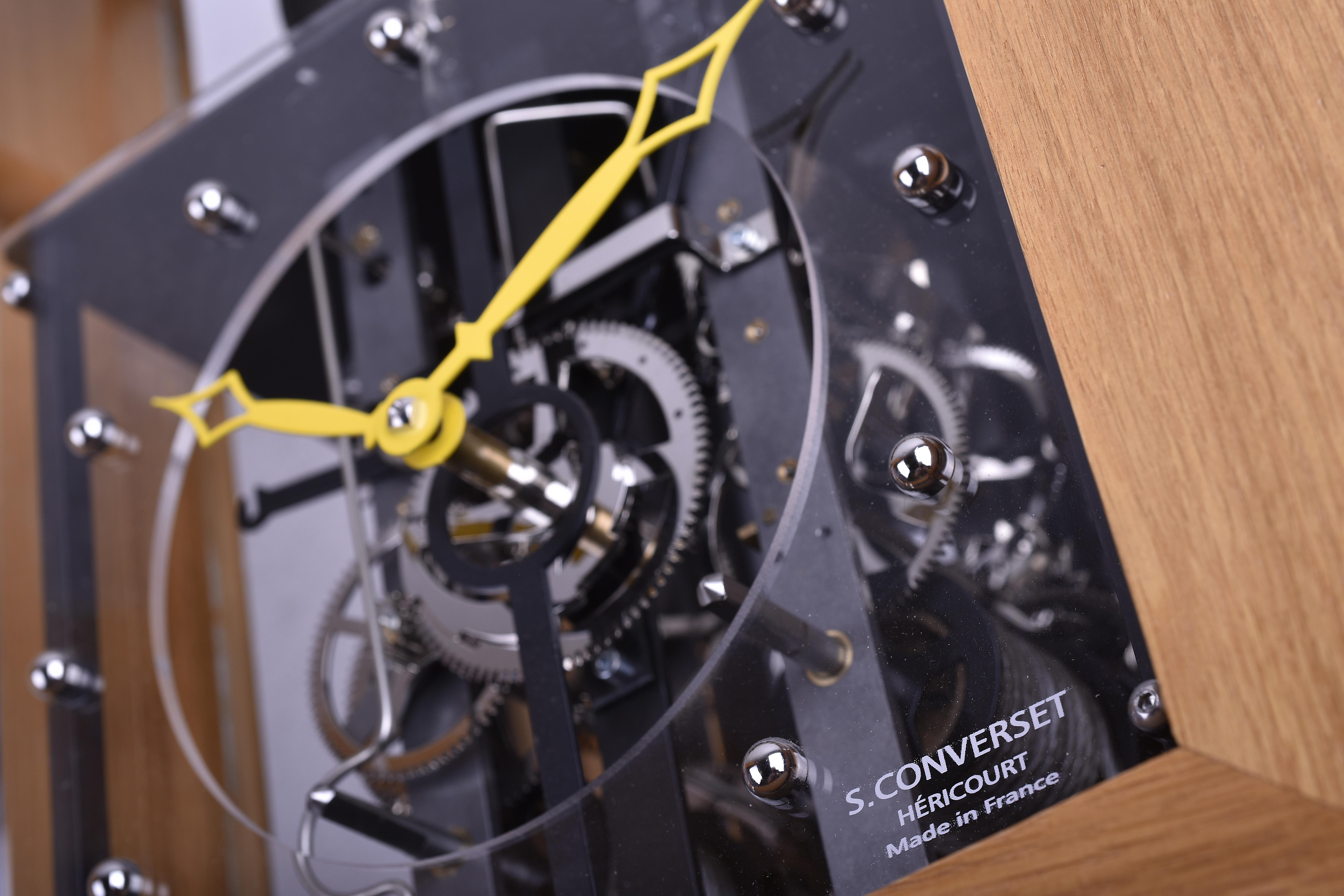 mécanisme horloge