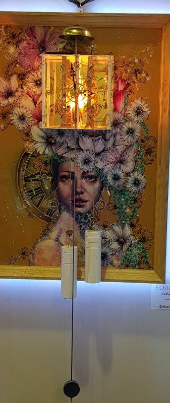 Horloge murale Equinoxe La Dame Verte by Elise